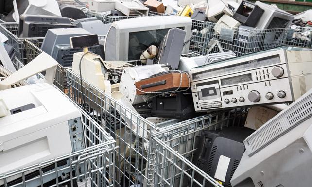 Common e-waste Items
