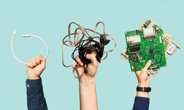 unwanted or old electronics